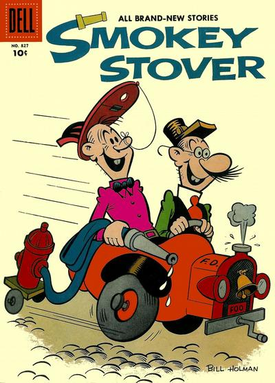 Cover for Four Color (Dell, 1942 series) #827 - Smokey Stover