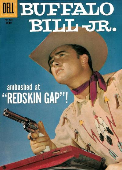 Cover for Four Color (Dell, 1942 series) #828 - Buffalo Bill, Jr.