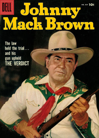Cover for Four Color (Dell, 1942 series) #834 - Johnny Mack Brown
