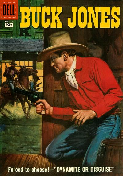 Cover for Four Color (Dell, 1942 series) #850 - Buck Jones