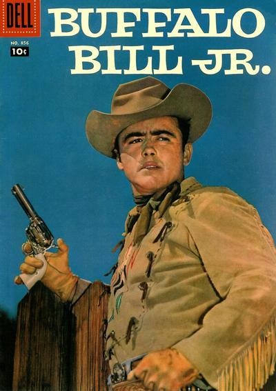 Cover for Four Color (Dell, 1942 series) #856 - Buffalo Bill, Jr.