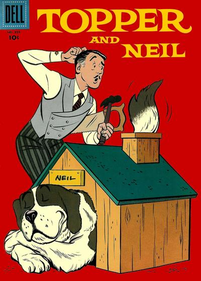 Cover for Four Color (Dell, 1942 series) #859 - Topper and Neil
