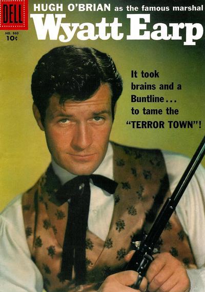 Cover for Four Color (Dell, 1942 series) #860 - Wyatt Earp
