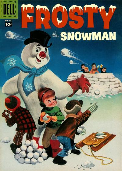 Cover for Four Color (Dell, 1942 series) #861 - Frosty the Snowman