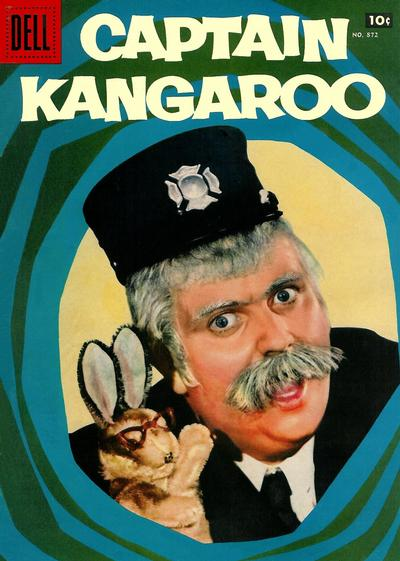 Cover for Four Color (Dell, 1942 series) #872 - Captain Kangaroo