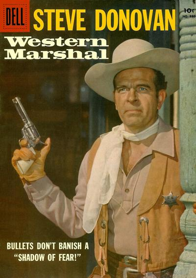 Cover for Four Color (Dell, 1942 series) #880 - Steve Donovan Western Marshal