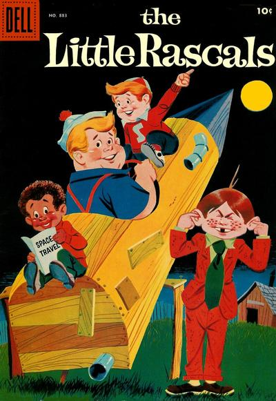 Cover for Four Color (Dell, 1942 series) #883 - The Little Rascals