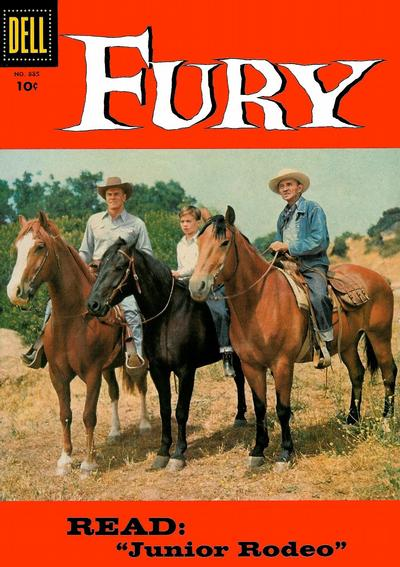 Cover for Four Color (Dell, 1942 series) #885 - Fury
