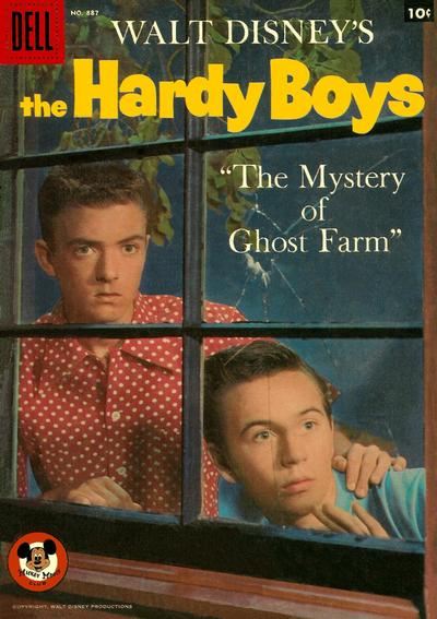 Cover for Four Color (Dell, 1942 series) #887 - Walt Disney's The Hardy Boys