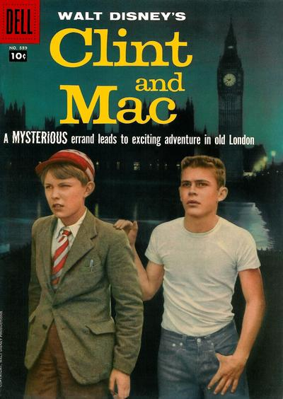 Cover for Four Color (Dell, 1942 series) #889 - Walt Disney's Clint and Mac