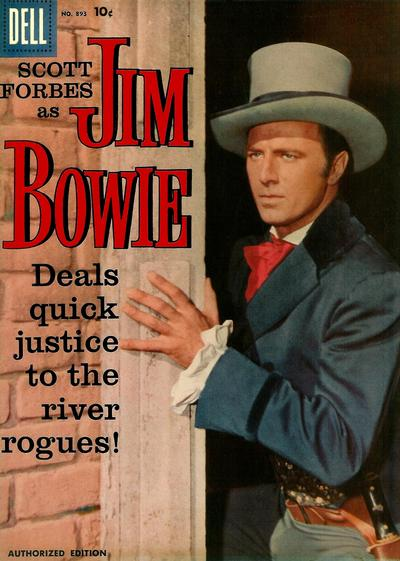 Cover for Four Color (Dell, 1942 series) #893 - Jim Bowie
