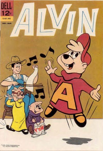Cover for Alvin (Dell, 1962 series) #2