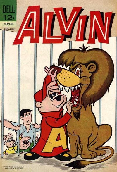Cover for Alvin (Dell, 1962 series) #3