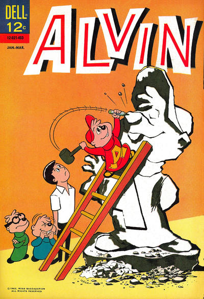 Cover for Alvin (Dell, 1962 series) #6