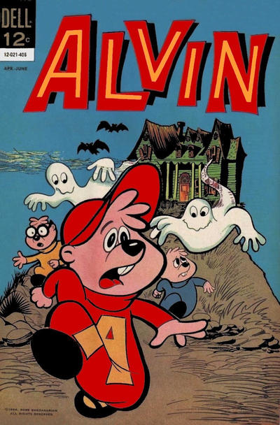 Cover for Alvin (Dell, 1962 series) #7