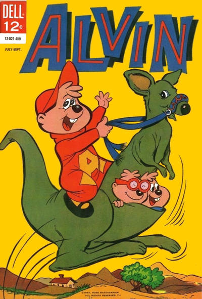 Cover for Alvin (Dell, 1962 series) #8