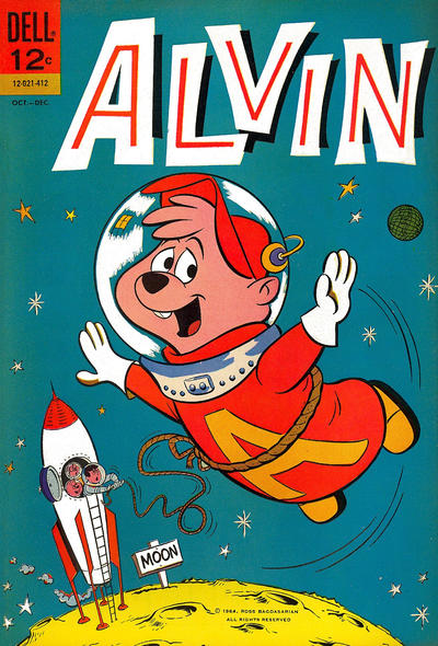 Cover for Alvin (Dell, 1962 series) #9