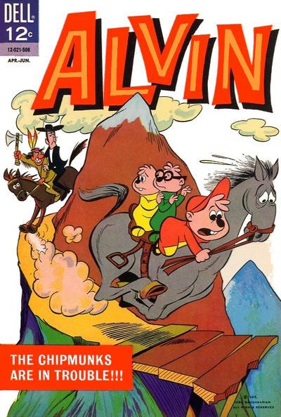 Cover for Alvin (Dell, 1962 series) #11
