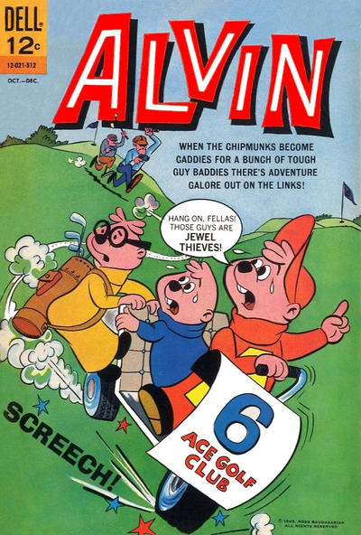 Cover for Alvin (Dell, 1962 series) #13