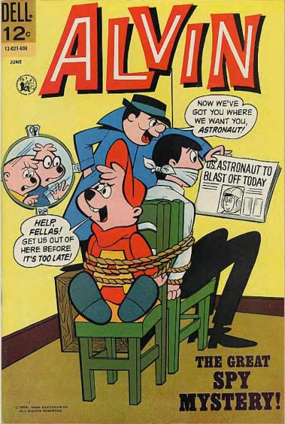 Cover for Alvin (Dell, 1962 series) #15