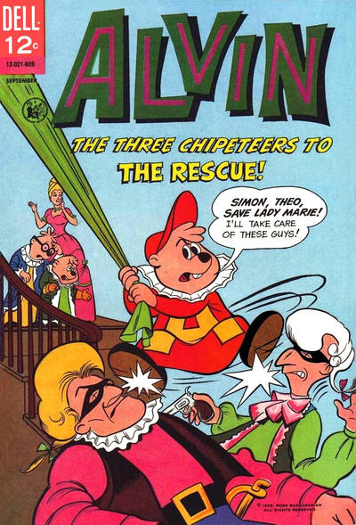 Cover for Alvin (Dell, 1962 series) #16