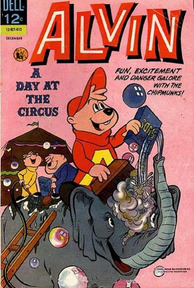 Cover for Alvin (Dell, 1962 series) #17