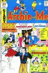 Cover for Archie and Me (Archie, 1964 series) #62