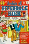 Cover for Archie at Riverdale High (Archie, 1972 series) #7