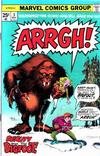 Cover for Arrgh! (Marvel, 1974 series) #3