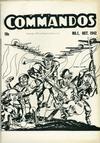 Cover for Commandos [ashcan] (DC, 1942 series) #1