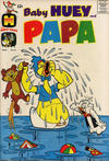 Cover for Baby Huey and Papa (Harvey, 1962 series) #4
