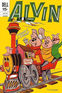 Cover Thumbnail for Alvin (Dell, 1962 series) #23