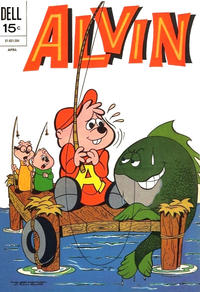 Cover Thumbnail for Alvin (Dell, 1962 series) #24