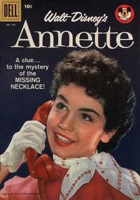 Cover Thumbnail for Four Color (Dell, 1942 series) #905 - Walt Disney's Annette