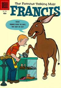 Cover Thumbnail for Four Color (Dell, 1942 series) #906 - Francis, The Famous Talking Mule
