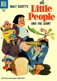 Cover Thumbnail for Four Color (Dell, 1942 series) #908 - Walt Scott's The Little People and the Giant