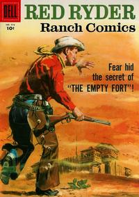 Cover Thumbnail for Four Color (Dell, 1942 series) #916 - Red Ryder Ranch Comics