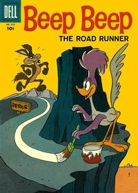 Cover Thumbnail for Four Color (Dell, 1942 series) #918 - Beep Beep the Roadrunner