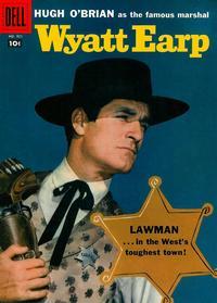Cover Thumbnail for Four Color (Dell, 1942 series) #921 - Wyatt Earp