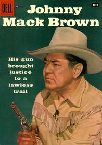 Cover Thumbnail for Four Color (Dell, 1942 series) #922 - Johnny Mack Brown