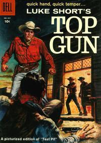 Cover Thumbnail for Four Color (Dell, 1942 series) #927 - Luke Short's Top Gun