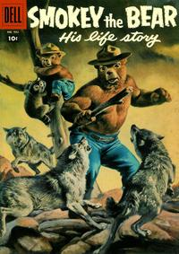 Cover Thumbnail for Four Color (Dell, 1942 series) #932 - Smokey the Bear