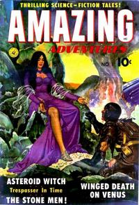 Cover Thumbnail for Amazing Adventures (Ziff-Davis, 1950 series) #1