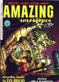Cover Thumbnail for Amazing Adventures (Ziff-Davis, 1950 series) #3