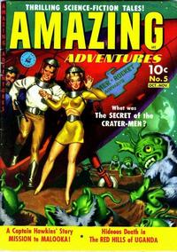Cover Thumbnail for Amazing Adventures (Ziff-Davis, 1950 series) #5