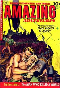Cover Thumbnail for Amazing Adventures (Ziff-Davis, 1950 series) #6