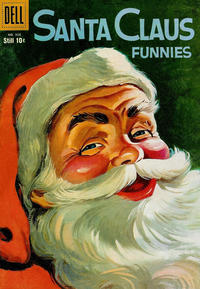Cover Thumbnail for Four Color (Dell, 1942 series) #958 - Santa Claus Funnies