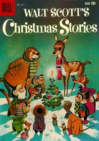 Cover Thumbnail for Four Color (Dell, 1942 series) #959 - Walt Scott's Christmas Stories