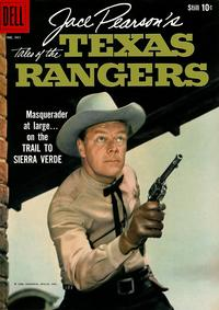 Cover Thumbnail for Four Color (Dell, 1942 series) #961 - Jace Pearson's Tales of the Texas Rangers