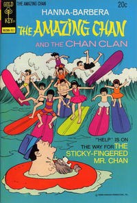Cover Thumbnail for Hanna-Barbera The Amazing Chan and the Chan Clan (Western, 1973 series) #3 [Gold Key Variant]